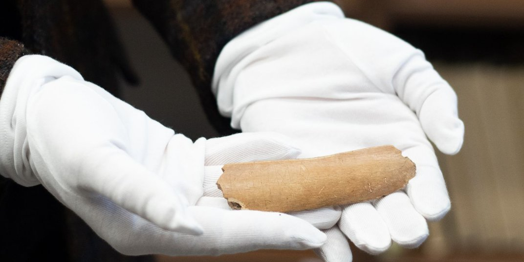 Runes Found on Seventh-Century Cow Bone Could Change Slavic History