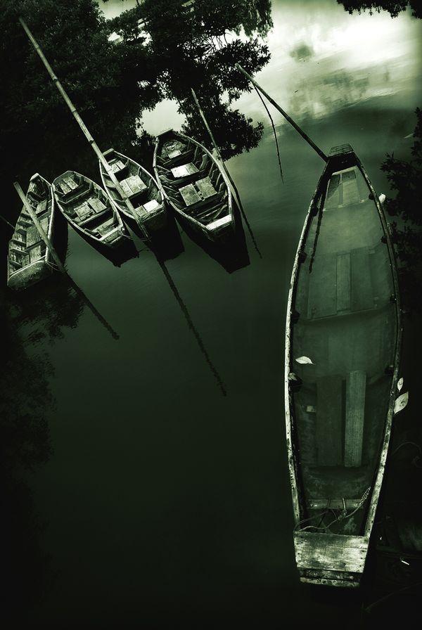 an parking boats at kuala langsa, NAD,indonesia thumbnail