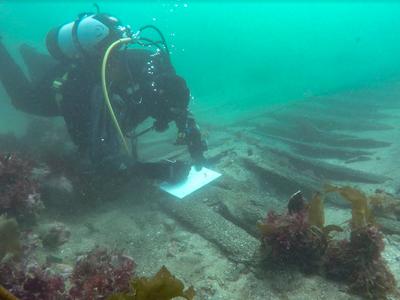 The Melckmeyt sank in October 1659