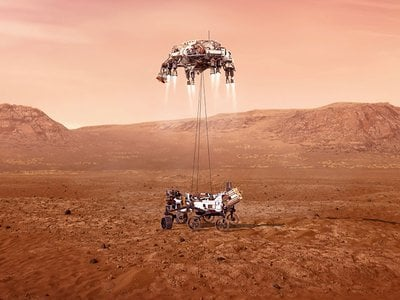 Hundreds of critical events must execute perfectly and exactly on time for the Perseverance rover to land safely on Mars.