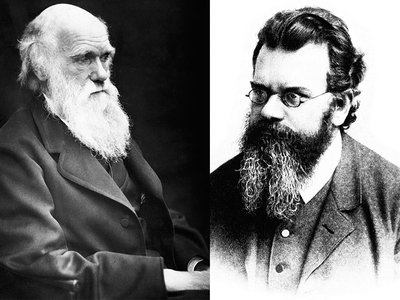 Besides exceptional facial hair, what could these two gentlemen have in common?