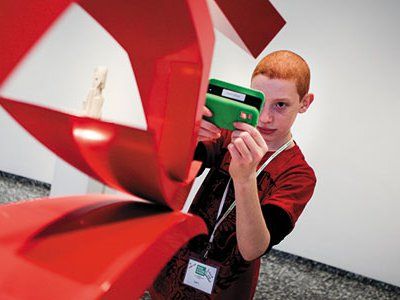 Scavenger hunts with mobile devices are a hit with teens.