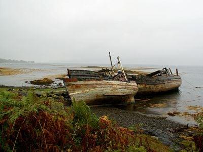 Abandoned Scottish Boats