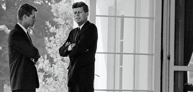 John F Kennedy and Robert F Kennedy