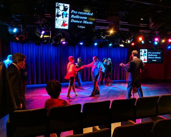 A live action shot of ballroom dancers thumbnail