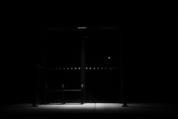 a desolate bus stop thumbnail
