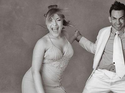 Cristina Cárdenas and Jeremy Longoria, Houston, 2008.