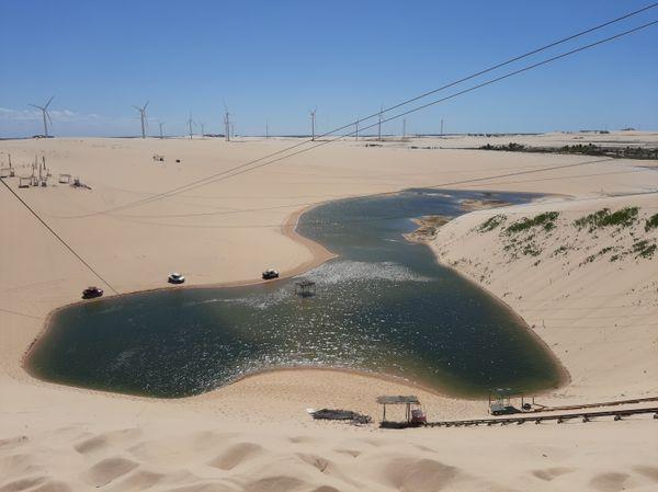 A lagoon between the dunes thumbnail