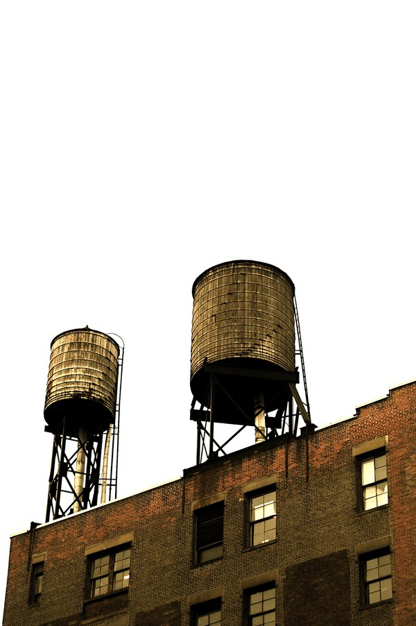 A love affair of water towers in New York City thumbnail