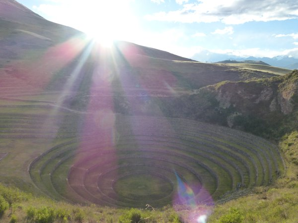 Incan terraces at Moray, Peru thumbnail