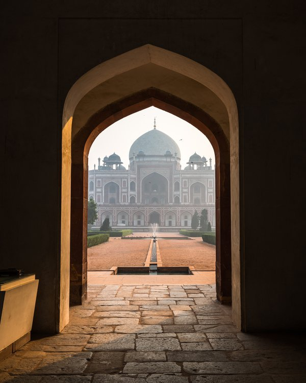 Entry gate of Humayun's Tomb thumbnail