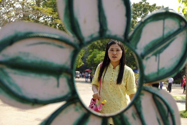 A Woman in A Flower thumbnail