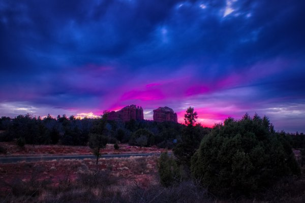Cathedral Rock Sunset thumbnail