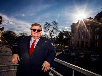 """""""Cheaper electricity is better. Clean energy is better,"""" says Georgetown Mayor Dale Ross."""
