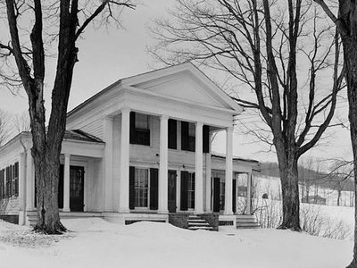 Cyrus Gates House, in Broome County, New York, was once an important stop along the Underground Railroad.