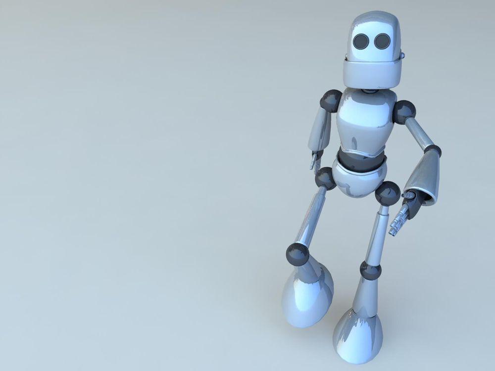 3D Robot Joe