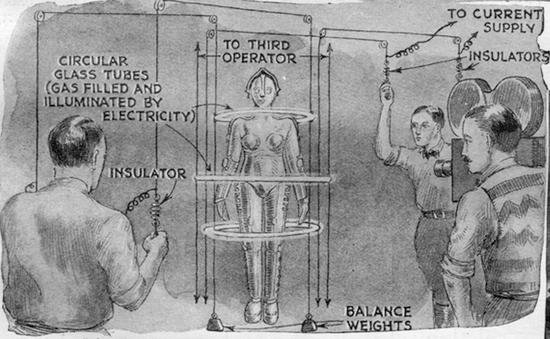 "1927 Magazine Looks at Metropolis, ""A Movie Based On Science"""