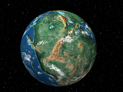 During the Early Triassic Epoch, Washington, D.C. was situated in a massive supercontinent called Pangea