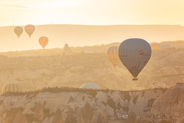 Yellow morning in Cappadocia thumbnail
