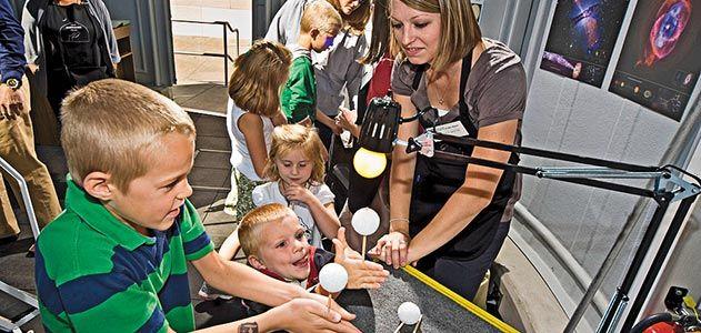 Smithsonian Solar System tutorial