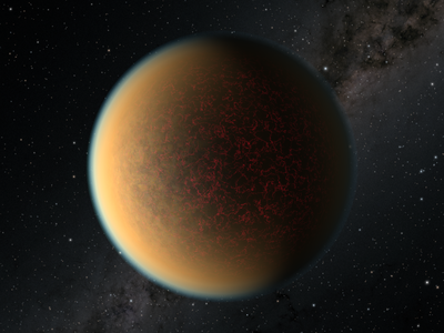Exoplanet GJ 1132 b was discovered in 2015 and is about 41 light years away from Earth