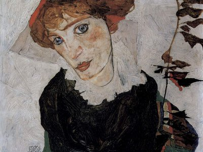 This Egon Schiele painting, Portrait of Wally, was looted during World War II and became the subject of a multimillion-dollar lawsuit in the 2000s after it was exhibited in New York.