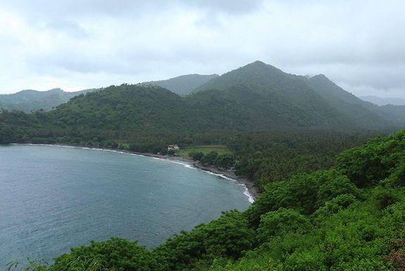 Lomboc Island is now a sleepy vacation spot.