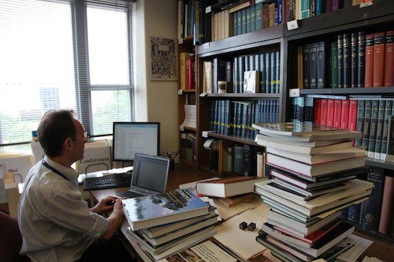 Research Associate Alain Touwaide