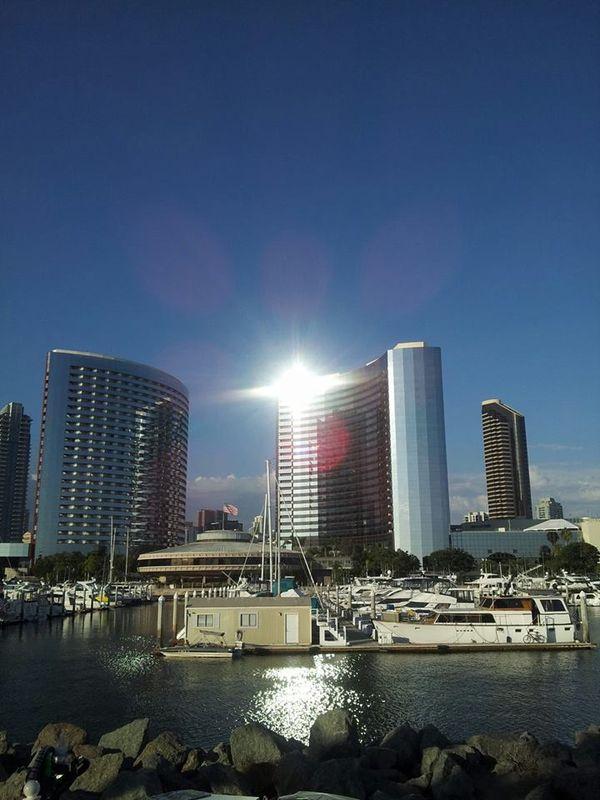 Sun on San Diego Bay thumbnail