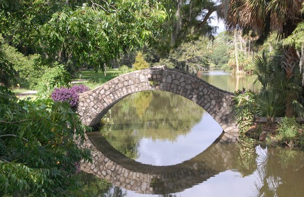 Travel to the Past on this Curved Stone Bridge thumbnail