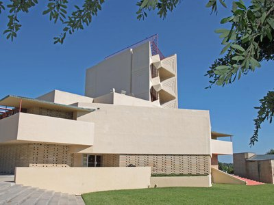 The Annie Pfeiffer Chapel on the campus of Florida Southern College