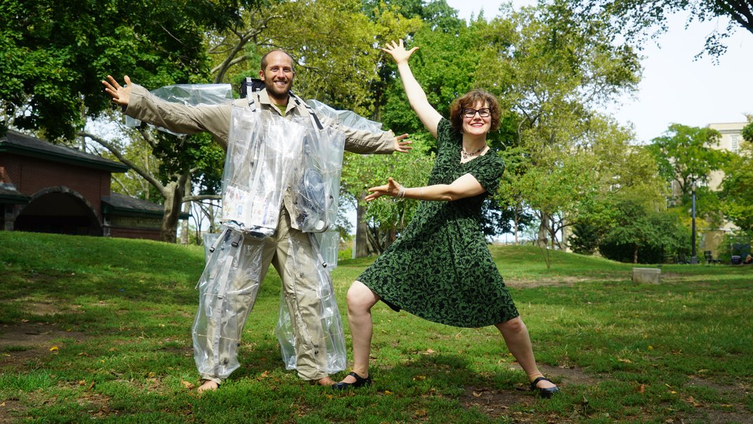 """Meet an Environmental Activist and an Artist Who Share a Passion for """"Trashion"""""""