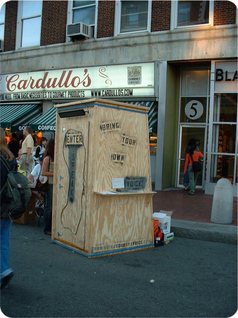 Portable Recording Booth