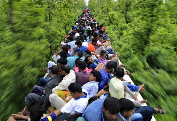 An overcrowded train journey thumbnail