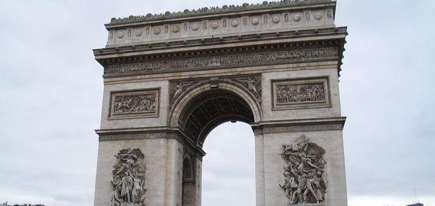 Paris grandest arch