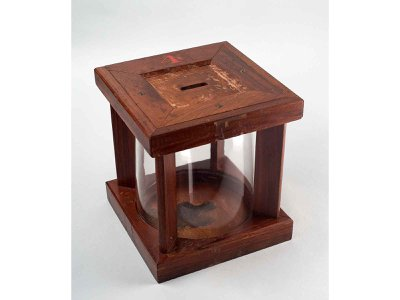 Glass ballot boxes were used as a way to show voter transparency at the polls and became popular in the late 1800s.