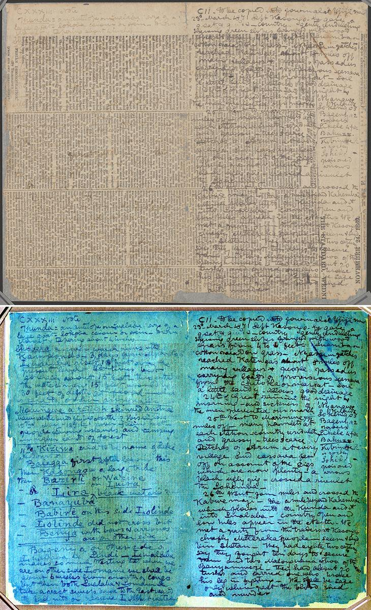 Decoding the Lost Diary of David Livingstone