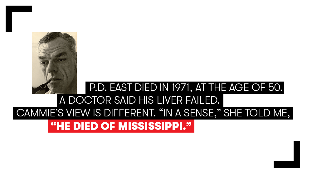 What Made P.D. East the Fearless Wit of Forrest County
