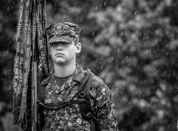 Cadet Caught in the Rain thumbnail