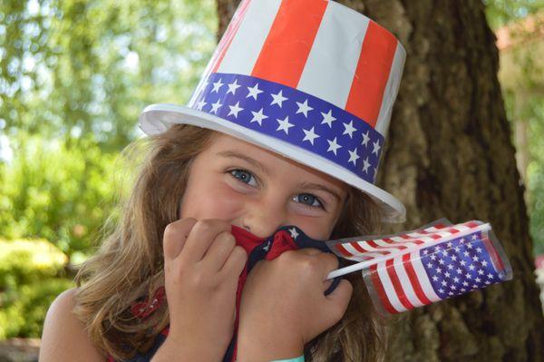 4th of July Granddaughter thumbnail