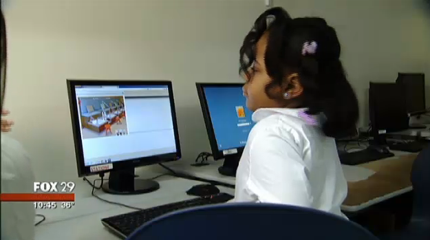 Zora Ball, the first grader who coded a computer game.