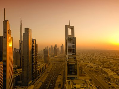 Dubai in the United Arab Emirates is one of the cities that could pass a heat and humidity threshold that would make outdoor conditions unlivable for humans.