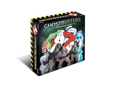 Bust some ghosts in this board game based on the 1984 classic.