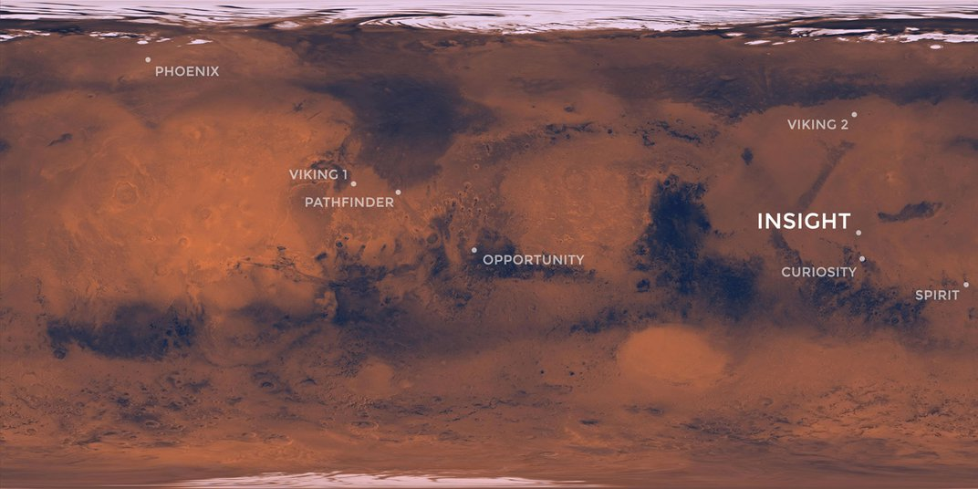 NASA Will Attempt Its Eighth Mars Landing on Monday