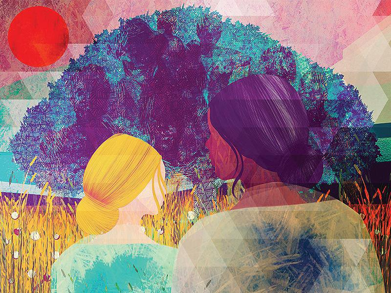 Illustration depicting Karen Orozco Gutierrez and Ann Banks