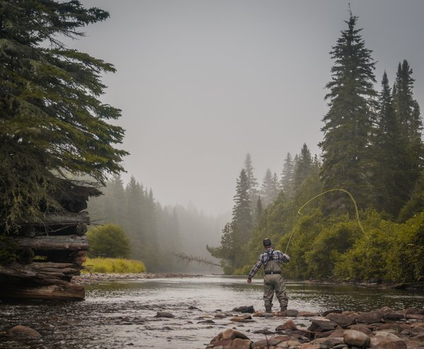 Fly Fishing in Quebec, Canada thumbnail