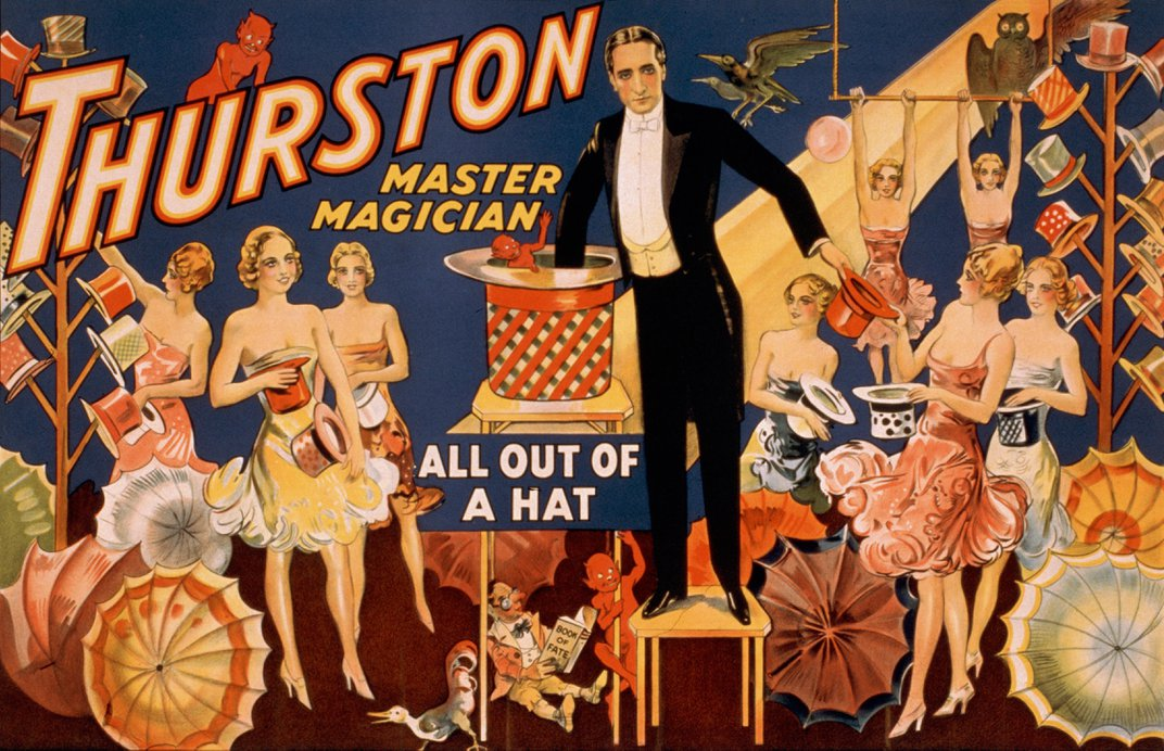 Howard Thurston, the Magician Who Disappeared