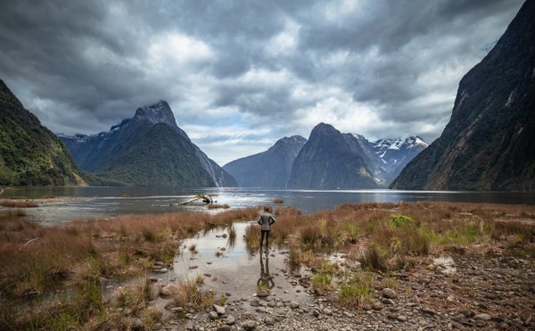 Solitude in Milford Sound thumbnail