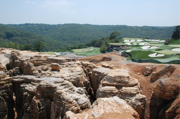 Top of the Rock Sink Hole and Golf Course in Harmony thumbnail