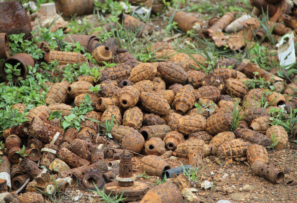 Laos Unexploded Ordnance